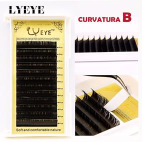 10 Caixas Cilios Fio A Fio Marca Yeye Mix Curvatura B - Seda