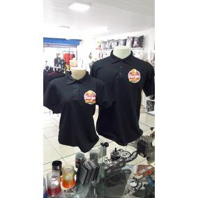 Camisa Polo Cor De Abobora - Uniformes no Mercado Livre Brasil a58b10cc8cc3a