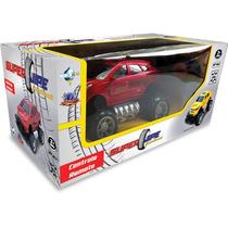 Carro Com Controle Remoto Super Jipe S! 33cm Munditoys
