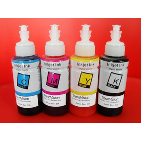 Kit 4 Refis De Tinta Epson L200 L355 L455, Xp + Dispenser