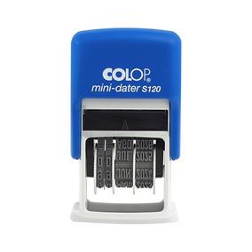 Carimbo Datador Automatico Colop S-120 - Com Data Até 2028