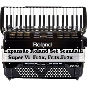 Expansão Roland Set Scandalli Super Vi Fr1x, Fr3x,fr7x