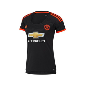 Jersey adidas Futbol Man U Fc Tercero Fan15/16 Mujer