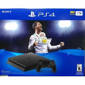 Playstation 4 Slim Sony 1tb Ps4 + Fifa 2018