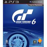Gt6, Gran Turismo 6, Español, Juego Ps3 Digital