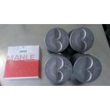 Pistones Con Anillos Fiat Uno 147 1.3 Original Mahle