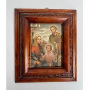 Cuadro Sagrada Familia C00022 Nogal