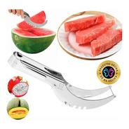 Fatiador Melancia Cortador Fruta Inox Resistente Cozinha Lar