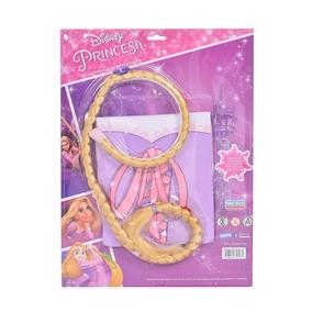 Kit Remera Manga Larga + Trenza Disney Rapunzel