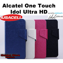 Alcatel One Touch Idol Ultra 6033 Funda Cartera Flip Case