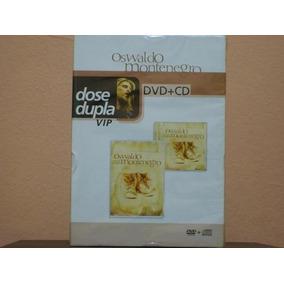 Dvd Oswaldo Montenegro Dose Dupla Vip Cd +dvd