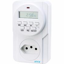 Timer Temporizador Digital Bivolt, Bateria Interna Visor Lcd