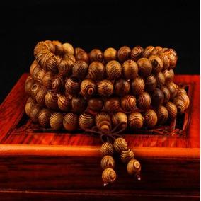 Japamala Tibetano Budista 8mm 108 Contas Madeira