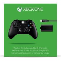 Control Xbox One Con Carga Y Juega, Nuevo Original!!