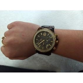 Relogio Maico Kross Feminino Dourado - Relógios no Mercado Livre Brasil 87488b8230