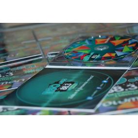 50 Estuches Dipticos Impresos Full Color Sin Cd