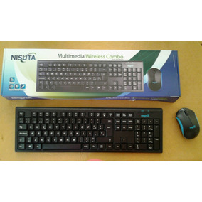 Teclado Y Mouse Inalambrico Ns-wi23co