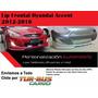 Lip Frontal Tuning De Parachoque Hyundai Accent