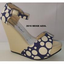 Sandalia Lucrecia Cordero 2615 Azul Zara Lob Berska Minelli