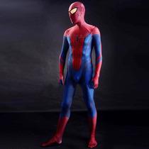 Traje Disfraz Spiderman Hombre Araña 3d Envió Gratis