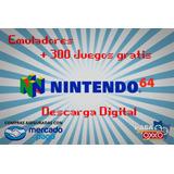 Emulador Nintendo 64 + Regalo 300 Juegos