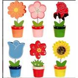 Kit 10 Mini Vaso Porta Recado Misto Jardim Lembrancinha Deco