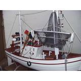 Barco En Madera Para Decoracion Grandes Artesanales.
