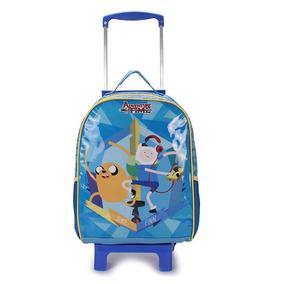 Mochilete Infantil Dmw Hora De Aventura - Azul U