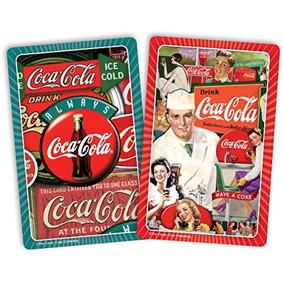 Gacela Puzzles Coca-cola Classics Jugando A Las Cartas