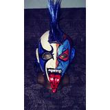 Mascara De Luchador Psycho Clown Profesional Modelo Original