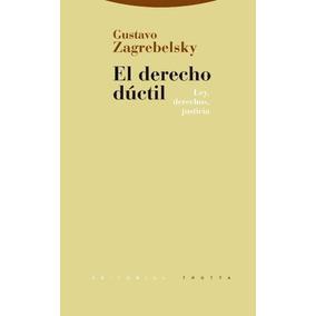 Elderecho Dúctil- Gustavo Zagrebelsky