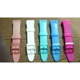 Malla Correa Color Reloj Swatch 20 Mm