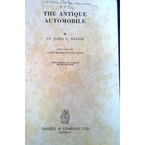 The Antique Automobile. Livraria Editora:cassell E Company
