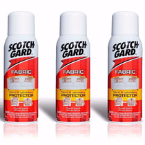Kit 3 Scotchgard 3m Protector Spray Impermeabilizante