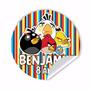 Adesivos Angry Birds Rótulos Personalizados Vários Modelos