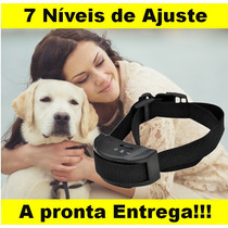 Coleira Anti Latido Adestramento Cachorro Som Choque 7 Nível