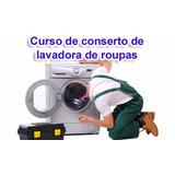 Curso Aprenda A Consertar Máquina De Lavar - 5 Dvds