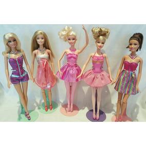 Barbies Originales Como Nuevas Con Extra Ropa De Regalo
