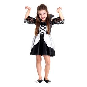 Fantasia Vampira Midnight Infantil