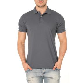 Camisa Polo Xgg Cor Principal Cinza - Camisa Pólo Manga Curta ... 5ed5bdb181082