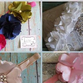 Tiara De Flores Elaboradas A Mano