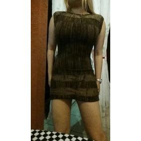 Hermoso Mini Vestido Calientito, Talla S.