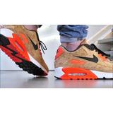 Tênis Nike Airmax 90. Couro Branco Ou Preto.original