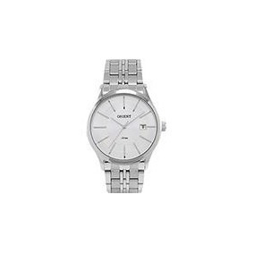 Relógio Orient Mbss1201 Mostrador Prata + Frete