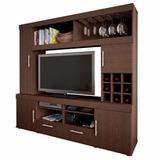 Centro Entretenimiento Mesa Tv Lcd Mueble Resistente