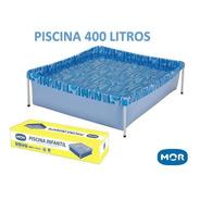 Piscina Retangular 1,15m X 1,06m X 33cm 400l Mor