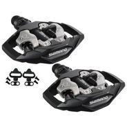 Pedal Shimano M530 Com Tacos Clip Mtb Plataforma