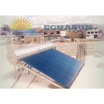 Calentador Solar De Agua 300 Litros (sistema Por Gravedad)