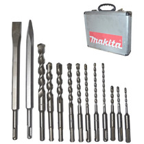 Kit De Brocas Y Cinceles Makita Sds Plus 13 Piezas