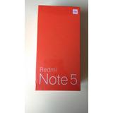 Xiaomi Redmi Note 5 Negro Global 4/64 + Case Protec Reforzad